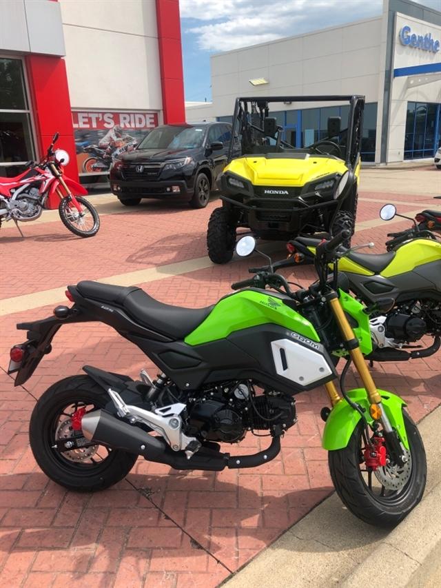 2020 HONDA GROM 125 Base at Genthe Honda Powersports, Southgate, MI 48195