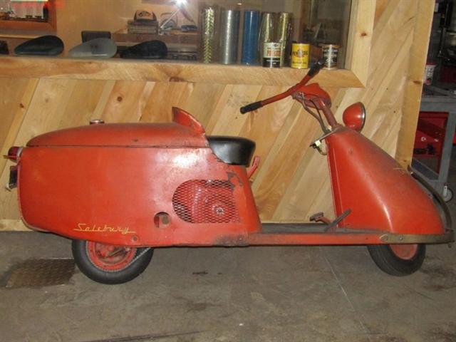 1948 SALSBU 85 at #1 Cycle Center Harley-Davidson