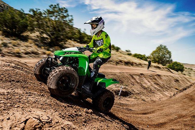 2021 Kawasaki KFX 90 at Extreme Powersports Inc