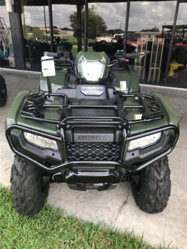 2018 Honda FourTrax Foreman Rubicon 4x4 Automatic DCT at Dale's Fun Center, Victoria, TX 77904