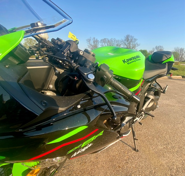 2021 Kawasaki Ninja ZX-6R ABS KRT Edition at Shreveport Cycles