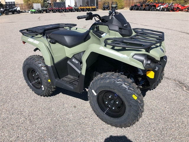 2020 Can-Am Outlander DPS 570 at Power World Sports, Granby, CO 80446