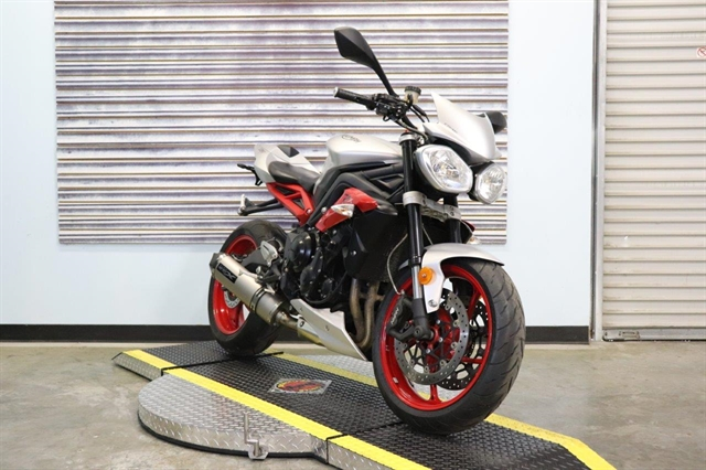 2015 Triumph Street Triple Rx Special Edition at Used Bikes Direct