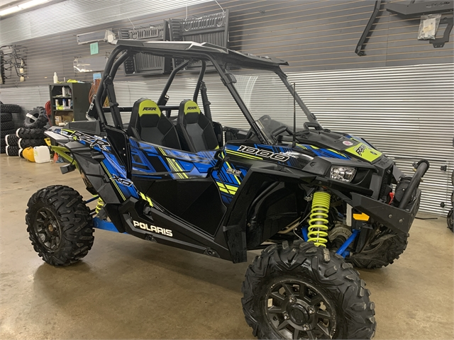 2017 Polaris RZR XP 1000 EPS Velocity Blue LE at ATVs and More