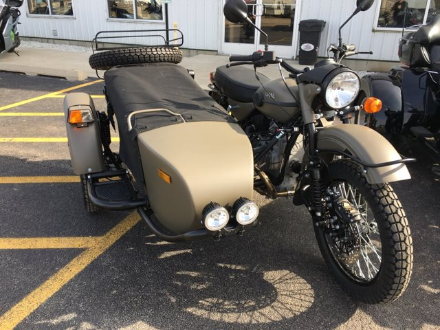 2019 URAL GEAR UP O D Green at Randy's Cycle, Marengo, IL 60152