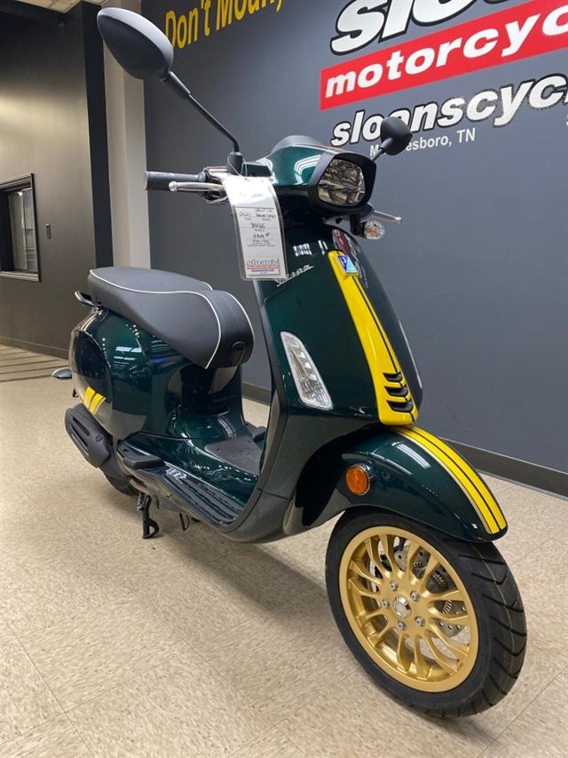 2021 Vespa Sprint 150 Racing Sixties at Sloans Motorcycle ATV, Murfreesboro, TN, 37129