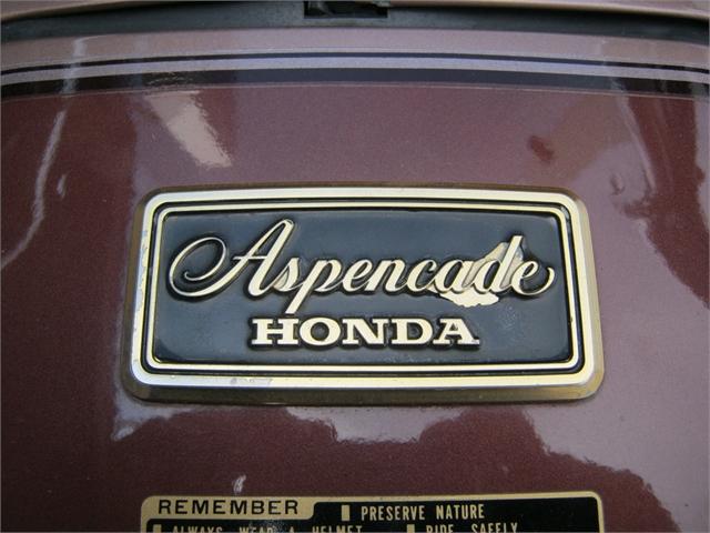 1986 Honda GL1200 Goldwing Aspencade at Brenny's Motorcycle Clinic, Bettendorf, IA 52722