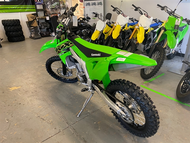 2021 KAWASAKI KX450KMFNN 450X at Shreveport Cycles