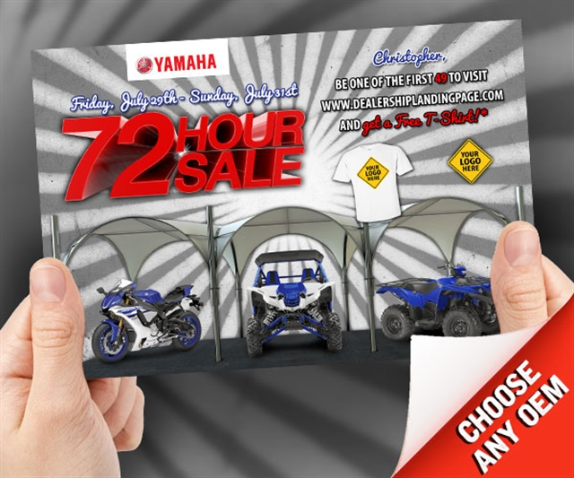 2018 ANYTIME 72 Hour Sale Powersports at PSM Marketing - Peachtree City, GA 30269