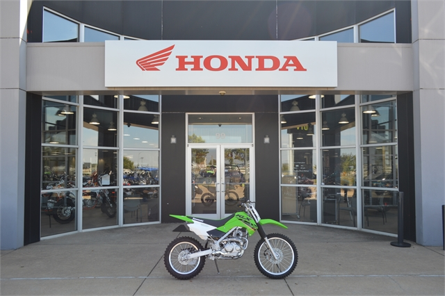 2022 Kawasaki KLX 140R L at Shawnee Honda Polaris Kawasaki