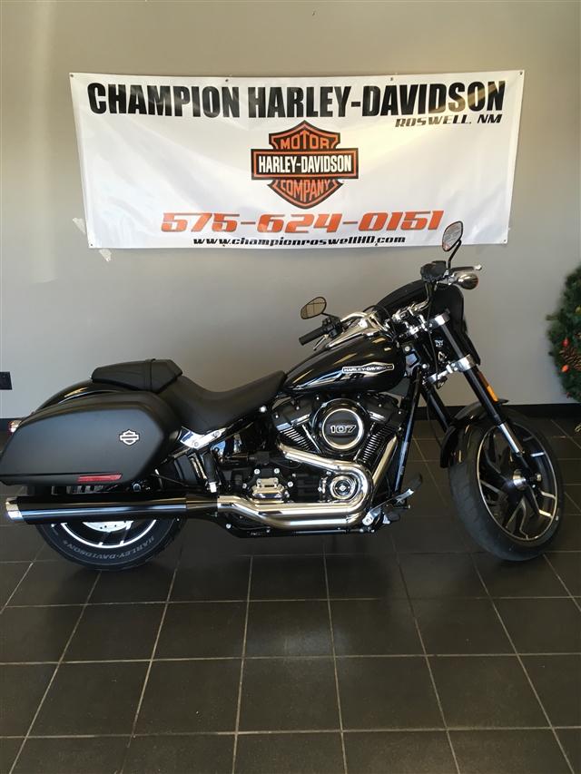 2019 HARLEY FLSB at Champion Harley-Davidson