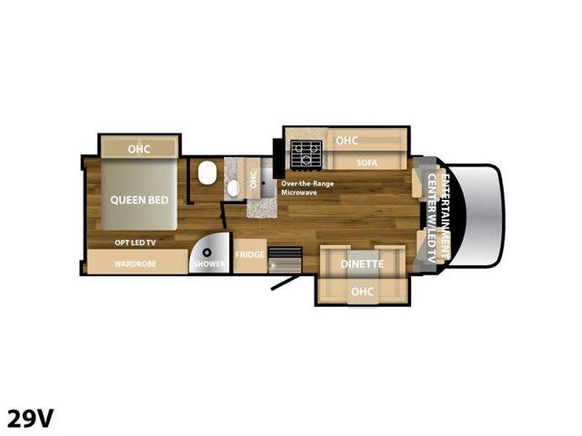 2019 nexus rv viper 29v rear bedroom campers rv center. Black Bedroom Furniture Sets. Home Design Ideas