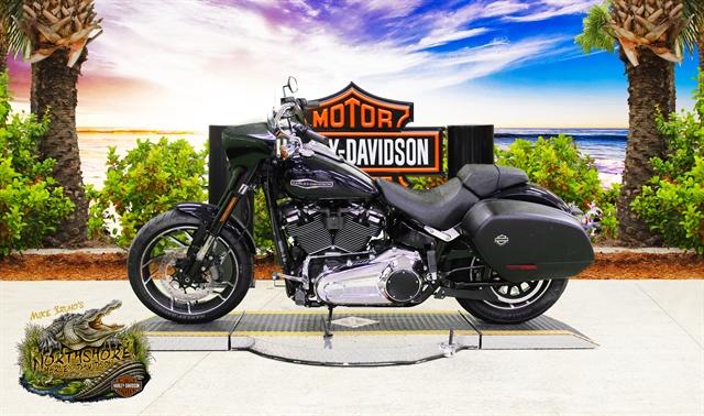 2019 Harley-Davidson Softail Sport Glide at Mike Bruno's Northshore Harley-Davidson