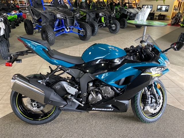 2021 Kawasaki Ninja ZX-6R ABS at Dale's Fun Center, Victoria, TX 77904