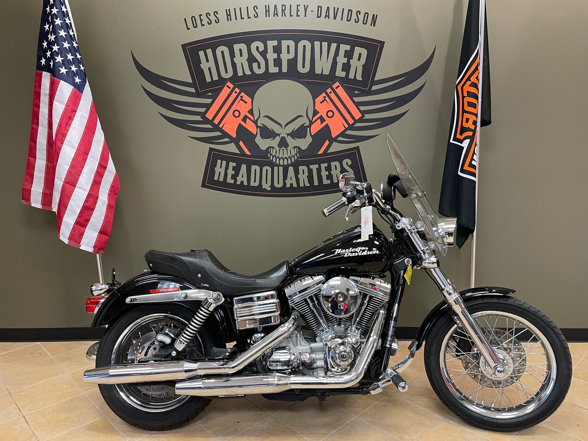 2008 Harley-Davidson Dyna Glide Super Glide at Loess Hills Harley-Davidson