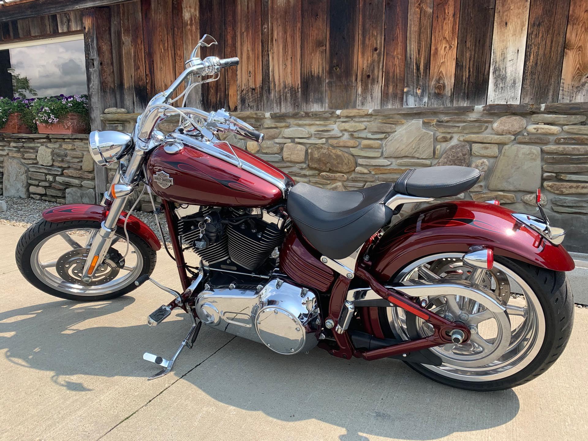 2009 Harley-Davidson Softail Rocker C at Arkport Cycles