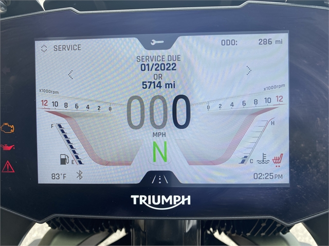 2021 Triumph Tiger 900 Rally Pro at Fort Myers