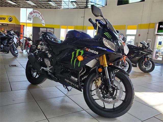 2021 Yamaha YZF R3 Monster Energy Yamaha MotoGP Edition at Sun Sports Cycle & Watercraft, Inc.