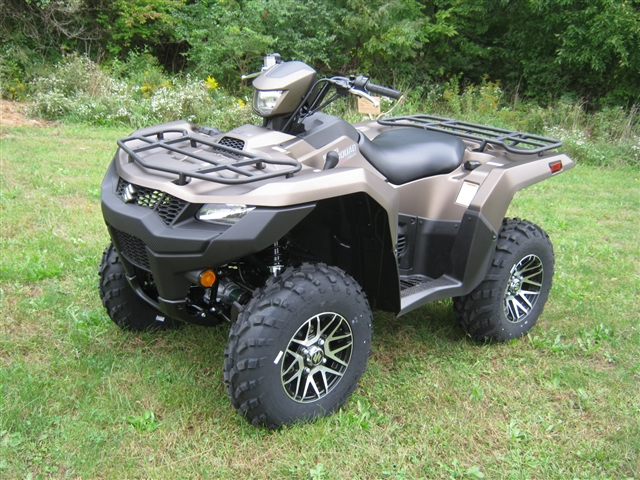 2019 Suzuki KingQuad 750 AXi Power Steering SE+ Flat Bronze at Brenny's Motorcycle Clinic, Bettendorf, IA 52722