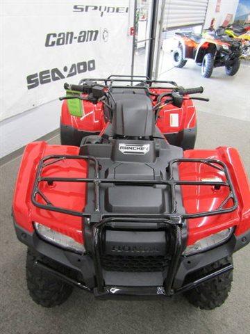 2018 Honda FourTrax Rancher Base at Seminole PowerSports North, Eustis, FL 32726