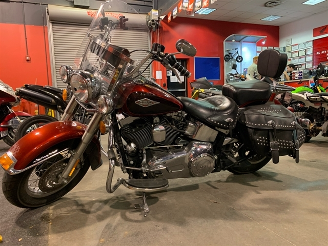 2012 Harley-Davidson Softail Heritage Softail Classic at Kent Powersports of Austin, Kyle, TX 78640