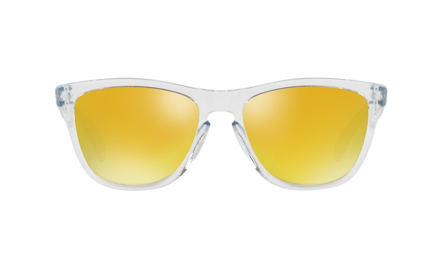 2018 Oakley Frogskins Polished Clear w/ 24k Iridium at Harsh Outdoors, Eaton, CO 80615
