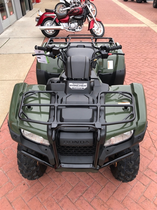 2019 Honda FourTrax Rancher 4X4 Automatic DCT EPS at Genthe Honda Powersports, Southgate, MI 48195