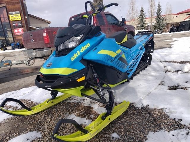 2018 SKI-DOO Summit X at Power World Sports, Granby, CO 80446