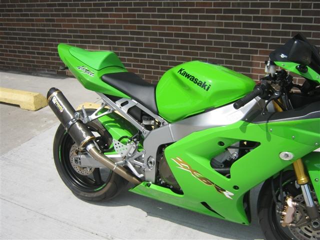 2003 Kawasaki ZX-6RR K1 at Brenny's Motorcycle Clinic, Bettendorf, IA 52722