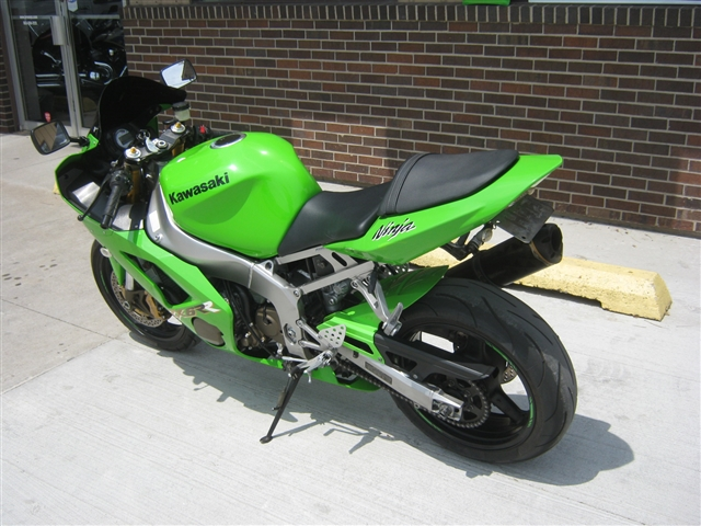 2003 Kawasaki ZX-6RR K1 at Brenny's Motorcycle Clinic, Bettendorf, IA 52722