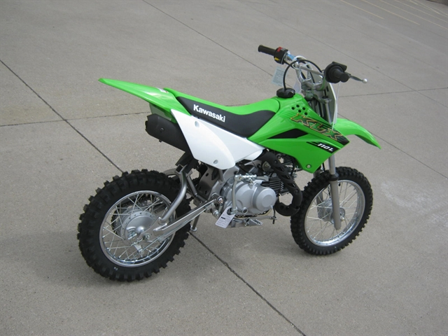 2020 Kawasaki KLX110L at Brenny's Motorcycle Clinic, Bettendorf, IA 52722
