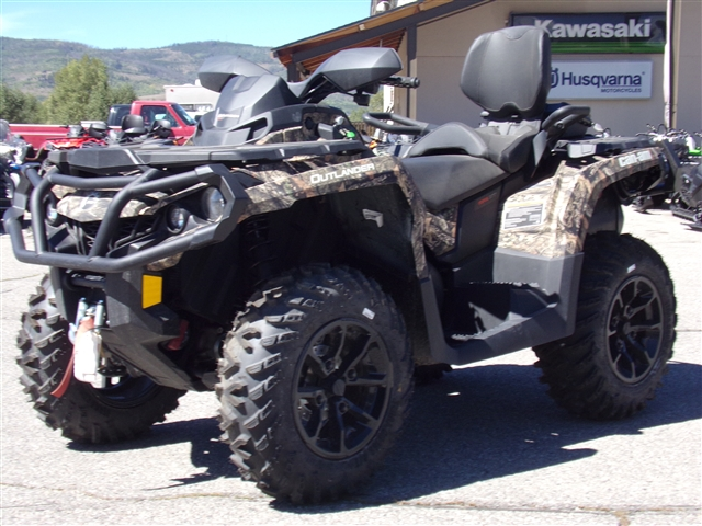 2018 Can-Am Outlander MAX XT 650 Mossy Oak Camo 650 at Power World Sports, Granby, CO 80446