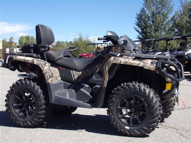 2018 Can-Am Outlander MAX XT 650 Mossy Oak Camo $216/month at Power World Sports, Granby, CO 80446