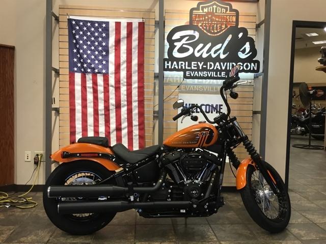 2021 Harley-Davidson Cruiser FXBBS Street Bob 114 at Bud's Harley-Davidson