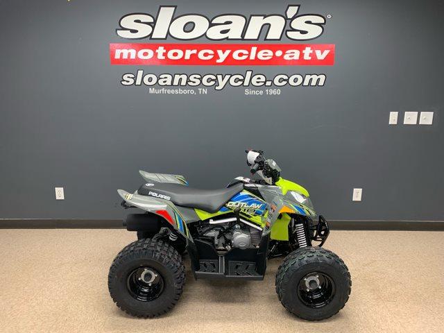 2019 Polaris Outlaw 110 EFI at Sloan's Motorcycle, Murfreesboro, TN, 37129