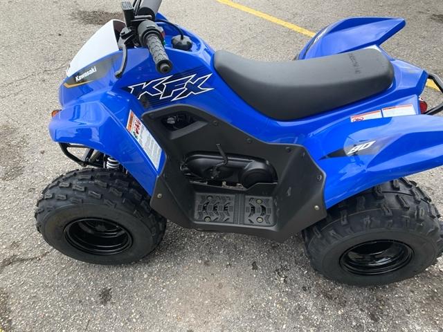 2020 Kawasaki KFX 90 90 at Jacksonville Powersports, Jacksonville, FL 32225