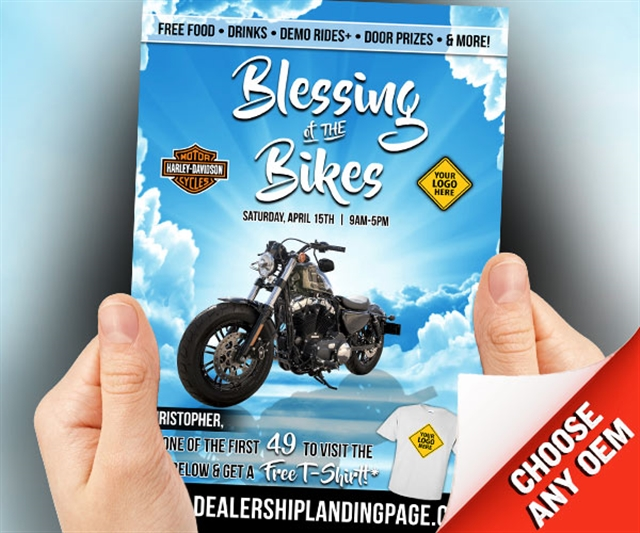 Blessing of the Bikes Powersports at PSM Marketing - Peachtree City, GA 30269