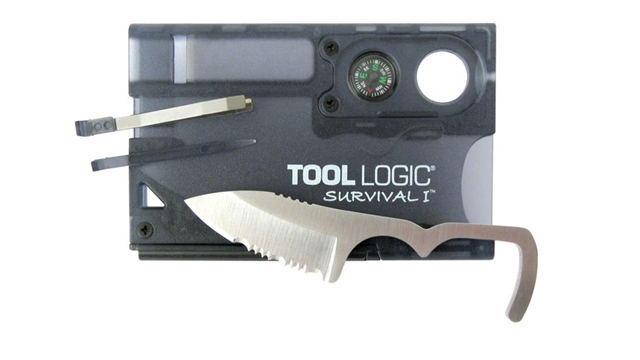 2019 SOG Tool Logic Survival Card at Harsh Outdoors, Eaton, CO 80615