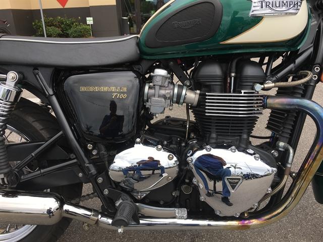 2011 Triumph Bonneville T100 at Fort Myers