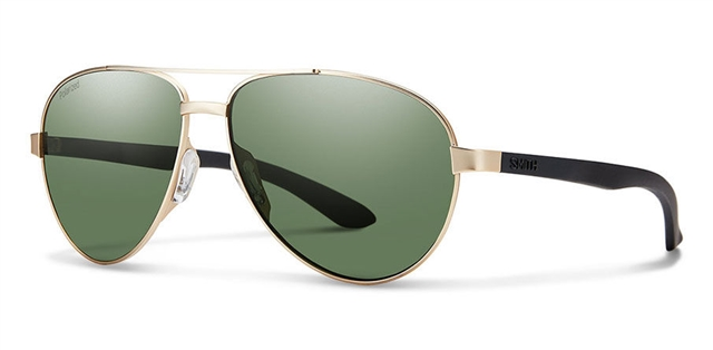 2018 Smith Salute Matte Gold w/ Gray Green Polarized at Harsh Outdoors, Eaton, CO 80615