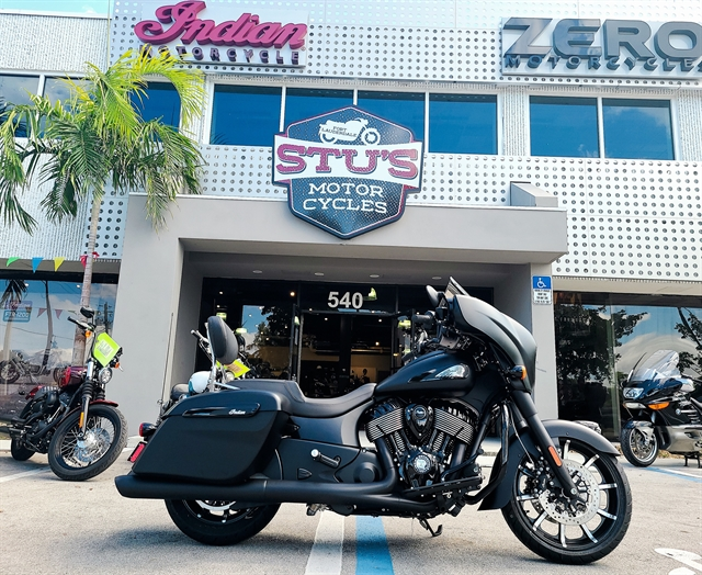 2020 Indian Chieftain Dark Horse at Fort Lauderdale