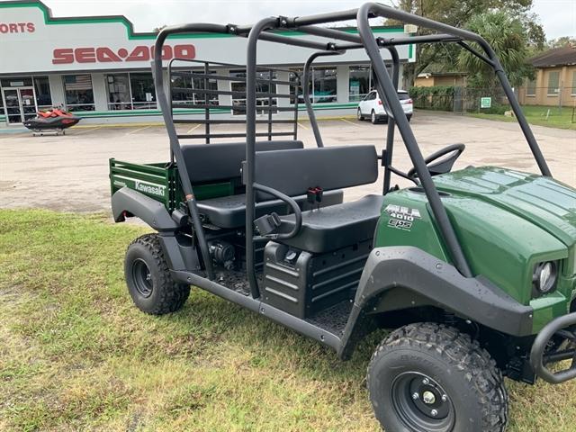 2021 Kawasaki Mule 4010 Trans4x4 at Jacksonville Powersports, Jacksonville, FL 32225