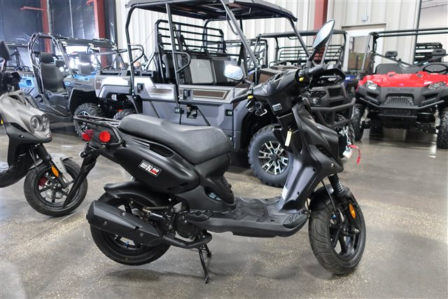 2017 Genuine Scooter Co. Roughhouse 50 Sport at Rod's Ride On Powersports, La Crosse, WI 54601