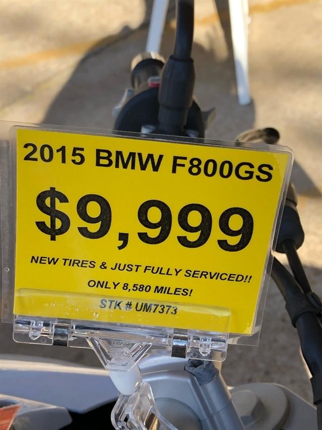 2015 BMW F 800 GS at Wild West Motoplex
