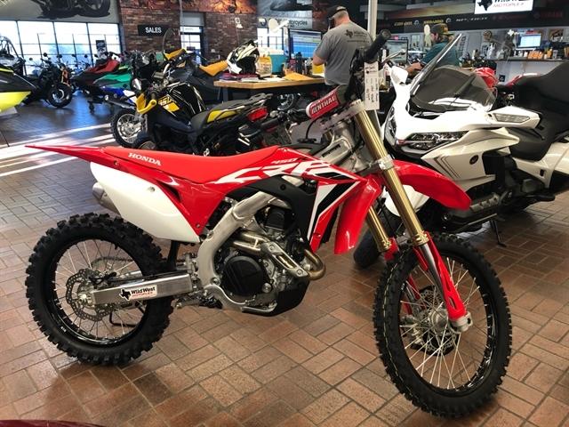 2020 Honda CRF 450R at Wild West Motoplex