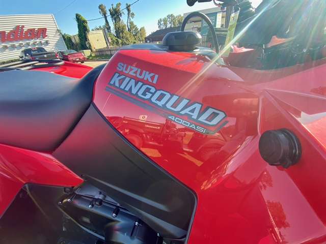2021 Suzuki KingQuad 400 FSi at Shreveport Cycles