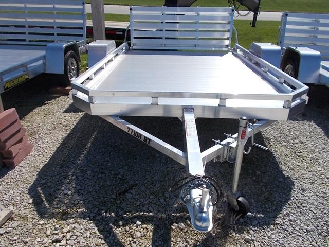 2020 Aluma 7710H BT 7710H Utility Trailer at Nishna Valley Cycle, Atlantic, IA 50022
