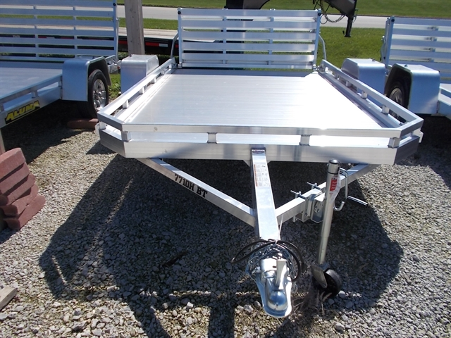 2021 Aluma 7710H BT 7710H Utility Trailer at Nishna Valley Cycle, Atlantic, IA 50022