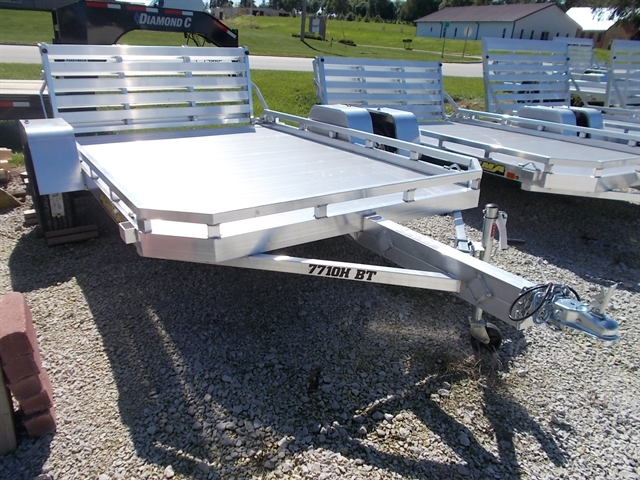 2020 Aluma 7710H BT 7710H Utility Trailer at Nishna Valley Cycle, Atlantic, IA 50022