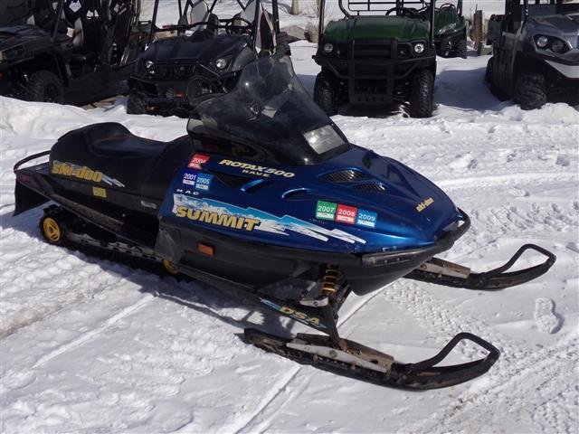 1998 SKI-DOO SUMMIT 500 at Power World Sports, Granby, CO 80446